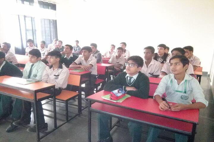 Shambhu Dayal Global School-Classroom