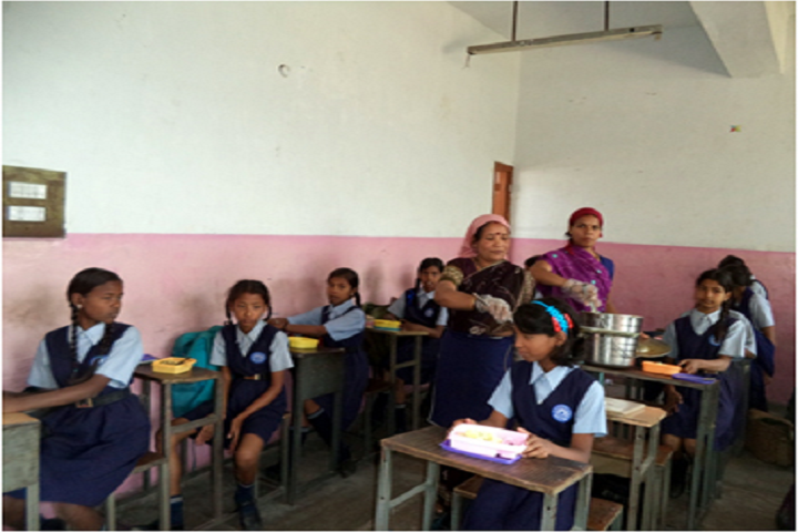 Govt High School-Mid Day  Meal