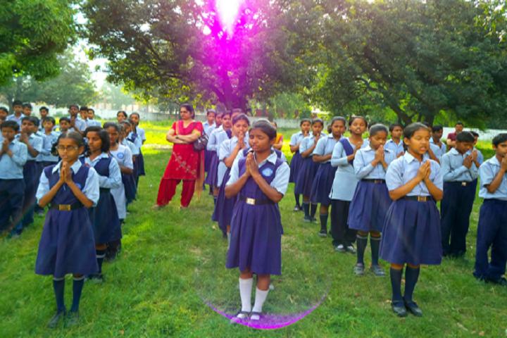 Govt High School-Morning Assembly