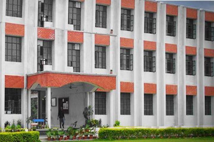 Sharada Public School-Campus View