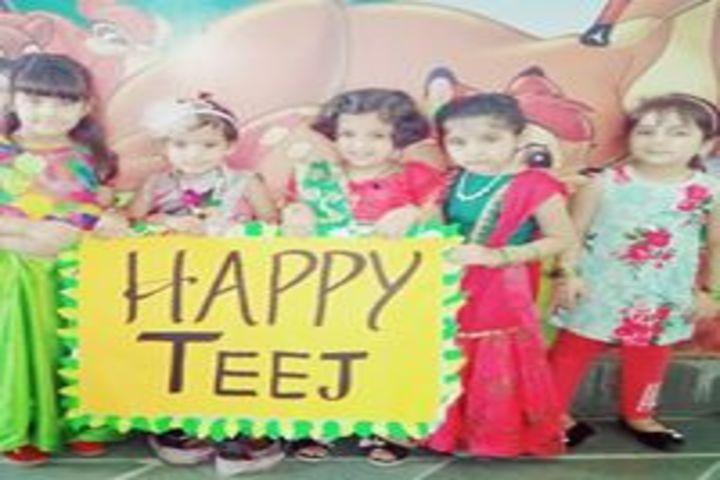 Shardein School-Teej Celebrations