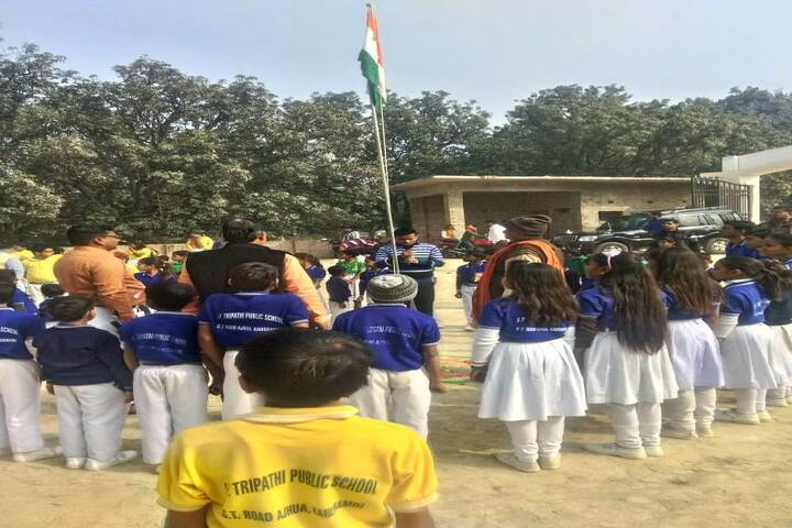 Sheetla Prasad Tripathi Public School-Independence Day