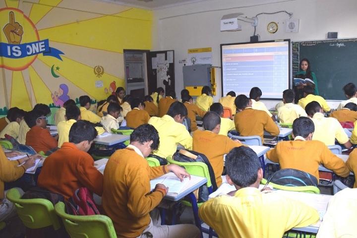 Shemford Futuristic School-Smart classroom