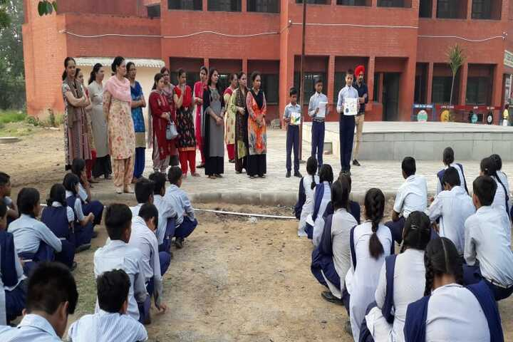 Government High School-Declamation On Save Water