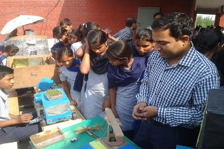 Government High School-Students Project