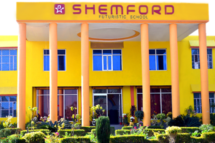 Shemford Futuristic School-Campus View