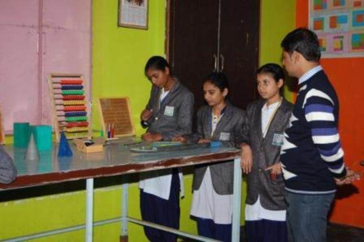 Shikhar Shiksha Sadan Higher Secondary School-Maths Lab