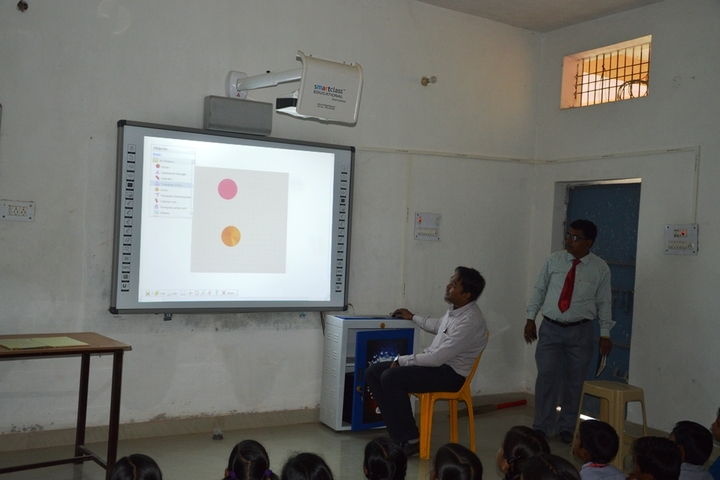 Shiv Shakti Public School-Smart classroom