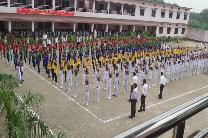 Shree Aditya Narayan Singh Public School-Assembly