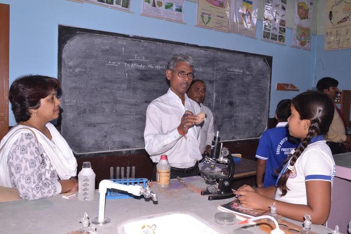 Shree Aditya Narayan Singh Public School-Biology Lab