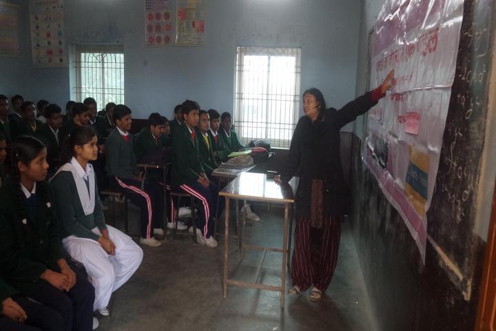 Shree Aditya Narayan Singh Public School-Classroom