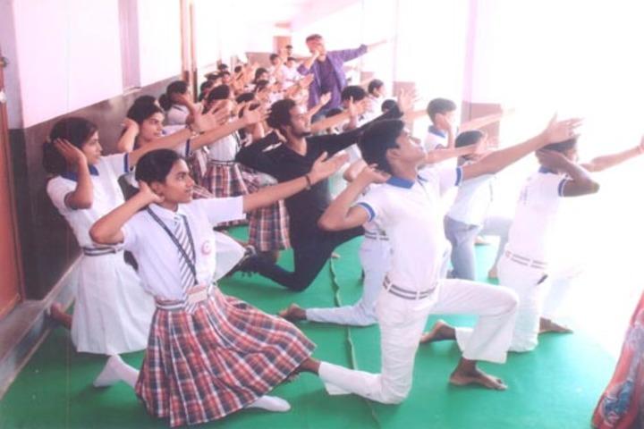 Shree Aditya Narayan Singh Public School-Dance Class