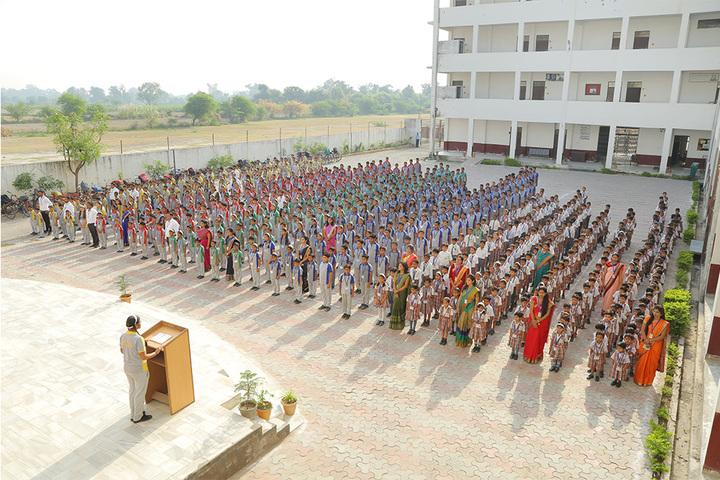 Shree Kunji Lal Gulkandi Devi Public School-Assembly