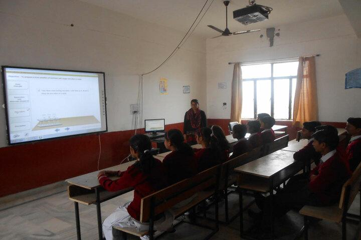 Shree Kunji Lal Gulkandi Devi Public School-Smart class