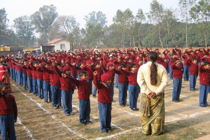 Shreya Public School-Assembly