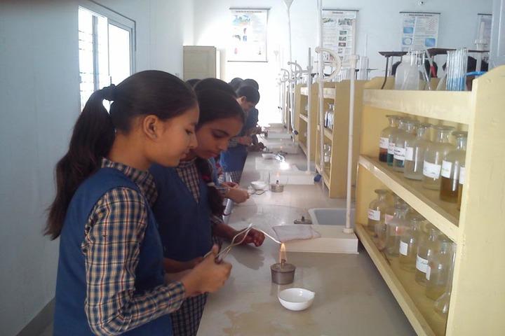 Shreya Public School-Chemistry lab