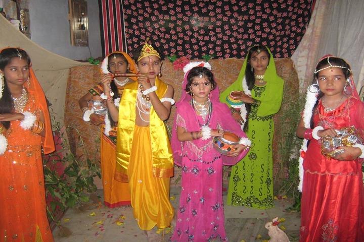 Shreya Public School-Janmashtami