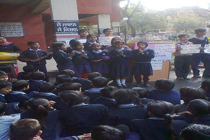 Government High School-World Thinking Day