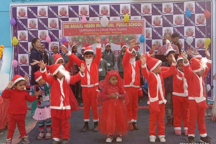 Shri Brijlal Yadav Memorial Public School-Christmas Celebration