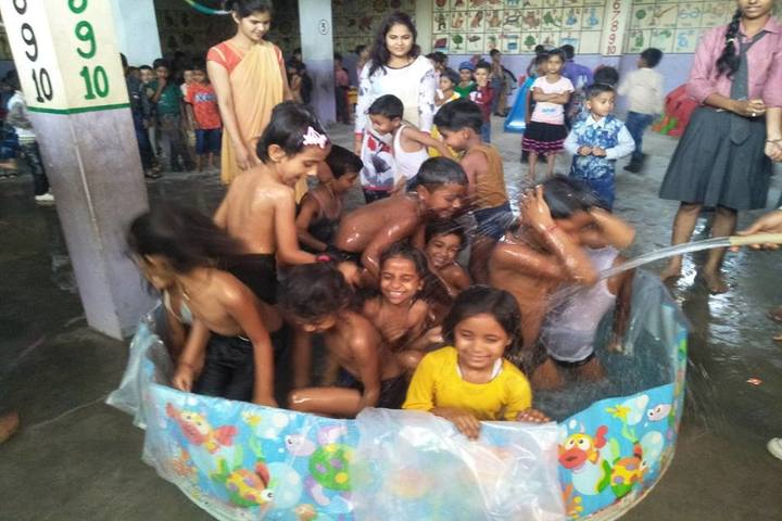 Shri Brijlal Yadav Memorial Public School-Pool Party