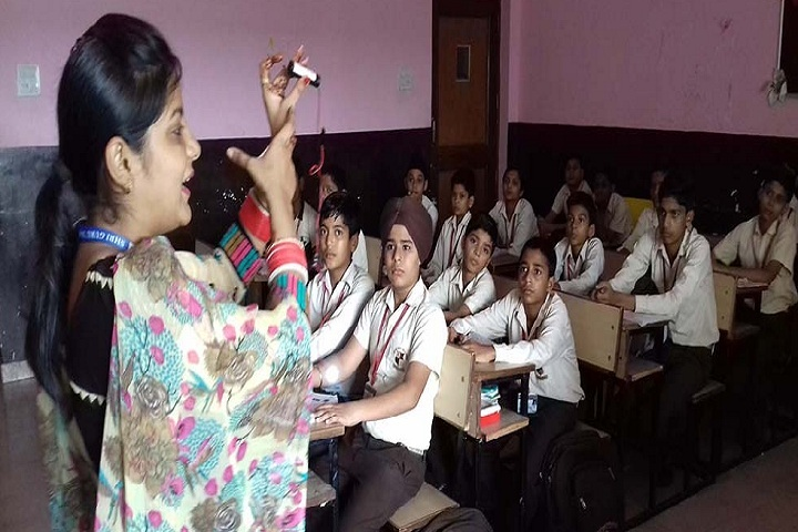 Shri Guru Nanak Public School-Activity Based teaching