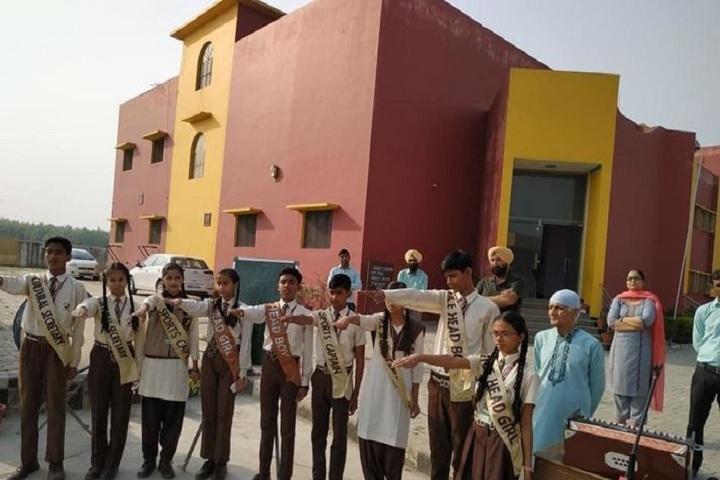 Shri Guru Nanak Public School-Investiture Ceremony