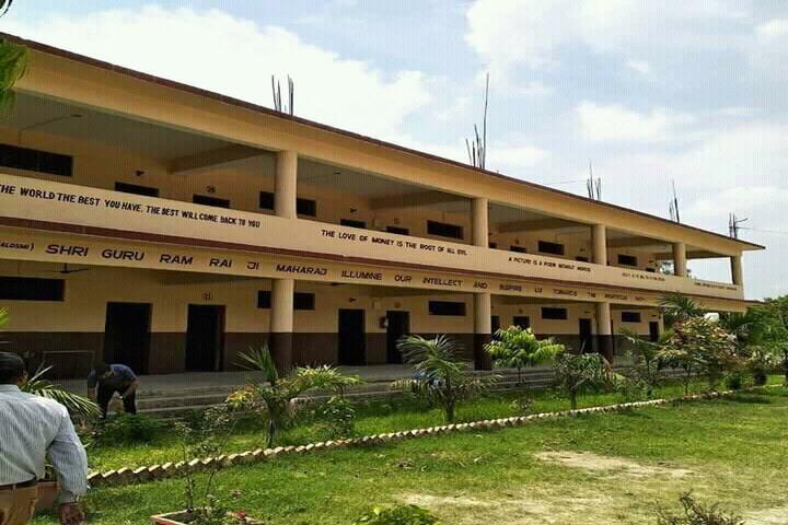 Shri Guru Ram Rai Public School-Building