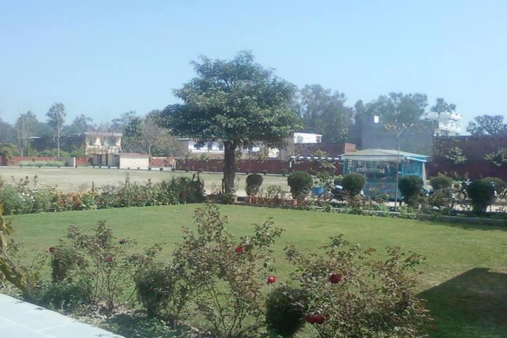 Shri Guru Ram Rai Public School-Garden