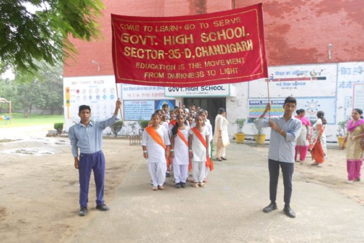 Government High School-Rally