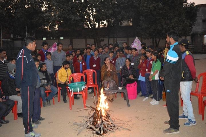 Shri Maha Prabhu Public School-Scouts and Guides Camp