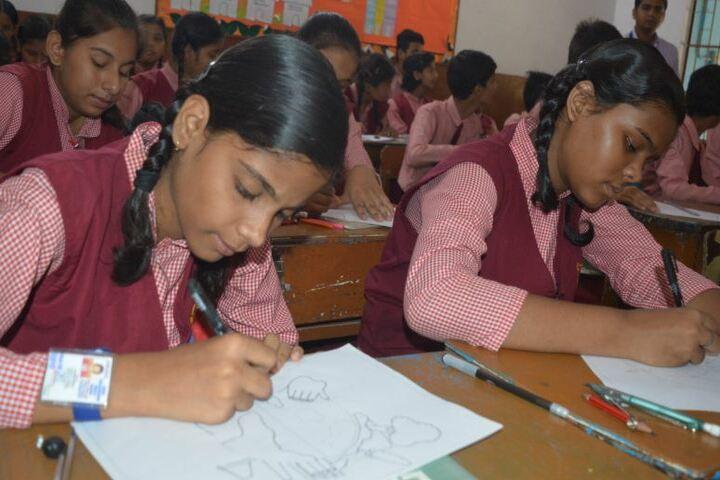 Shri Maha Prabhu Public School-Drawing Competition