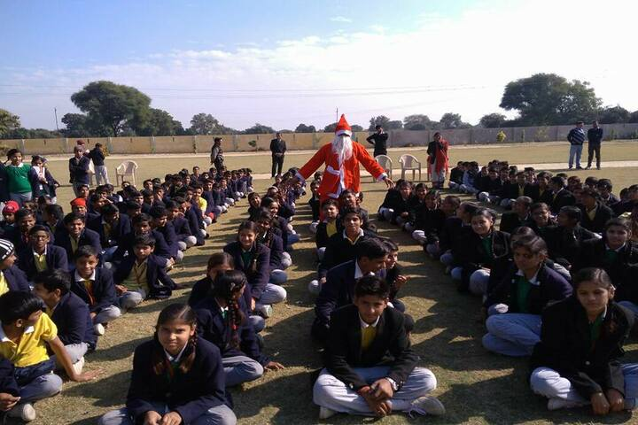 Shri Mahaveer Ji Public School-Christmas Day
