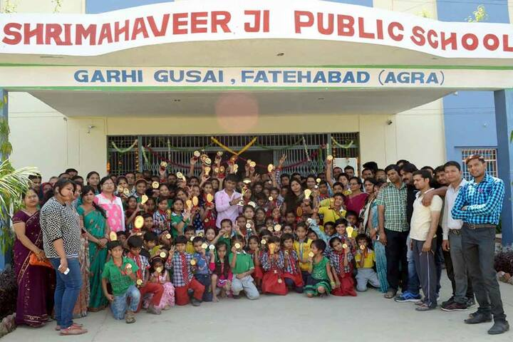 Shri Mahaveer Ji Public School-Group Photo