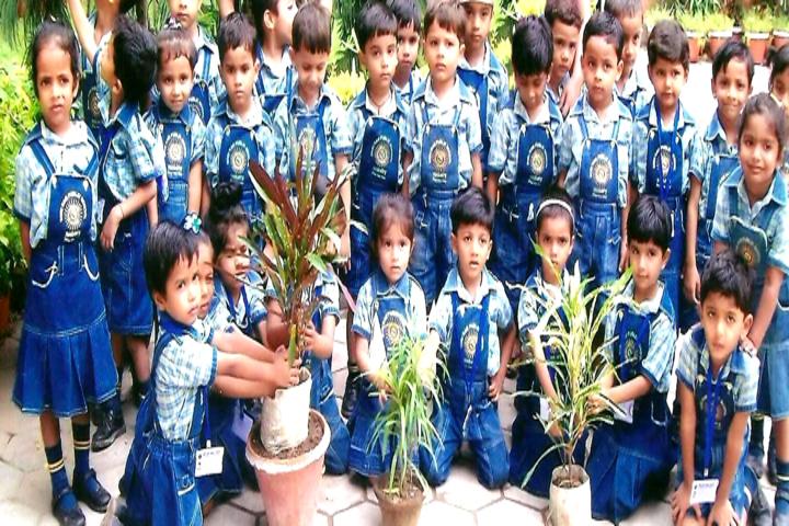 Shri Ram Public School-Plantation activity