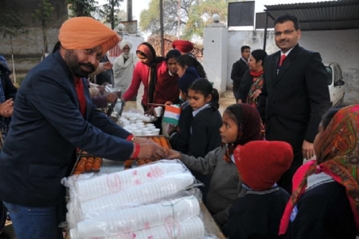 Government High School-Food Distribution