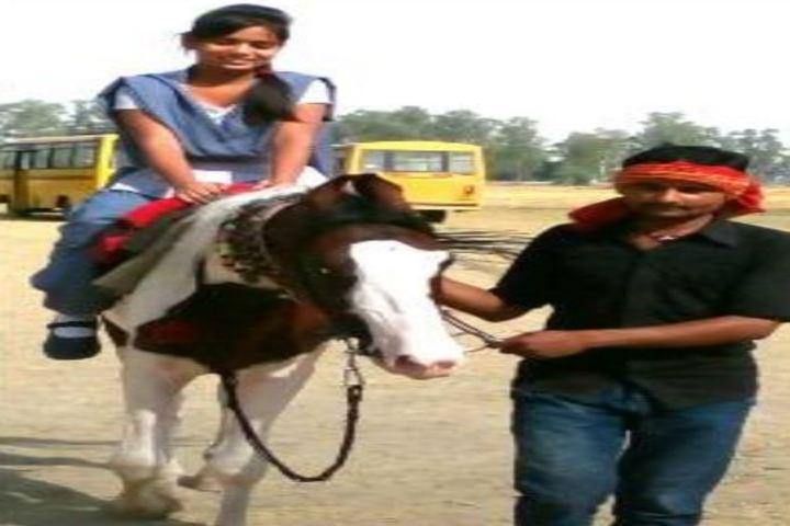 Shri Vinayak Academy International School-Horse Riding