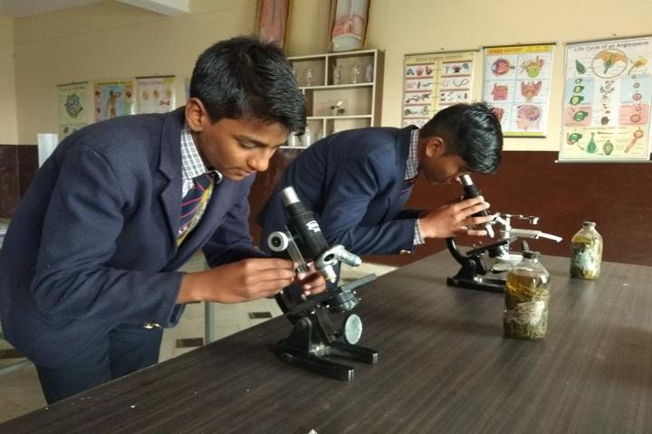 Shri Ji International School Mathura-Biology Lab