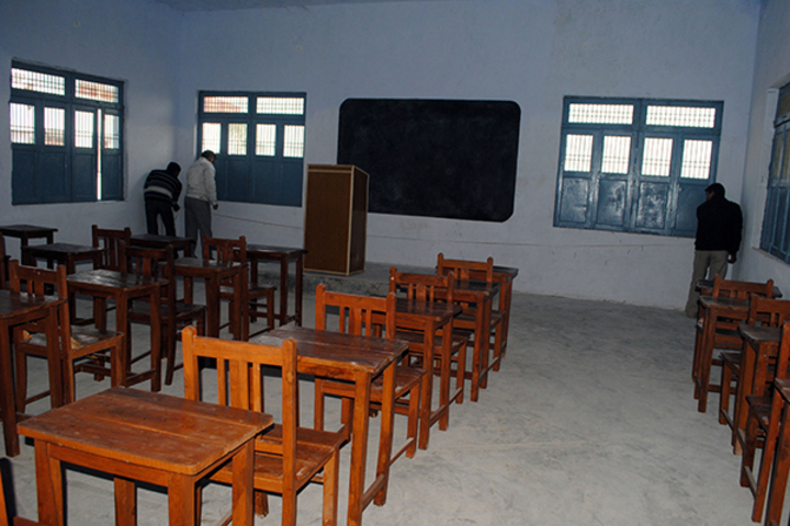 Shrimati Mamta Vidhyalaya- Class Room