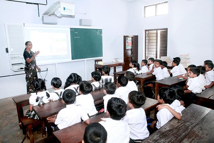 Shringi Rishi Vidyapeeth Public School-Classroom