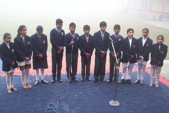 Shrish Chandra Public Inter College-Group Song