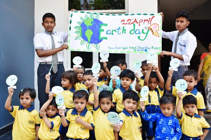 Siddharth International School-Earth day Celebration