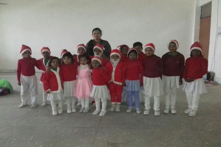 Siddharth Public School-Christmas Celebrations