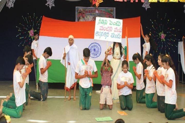 Gmr Varalakshmi Dav Public School-New Year Celebrations