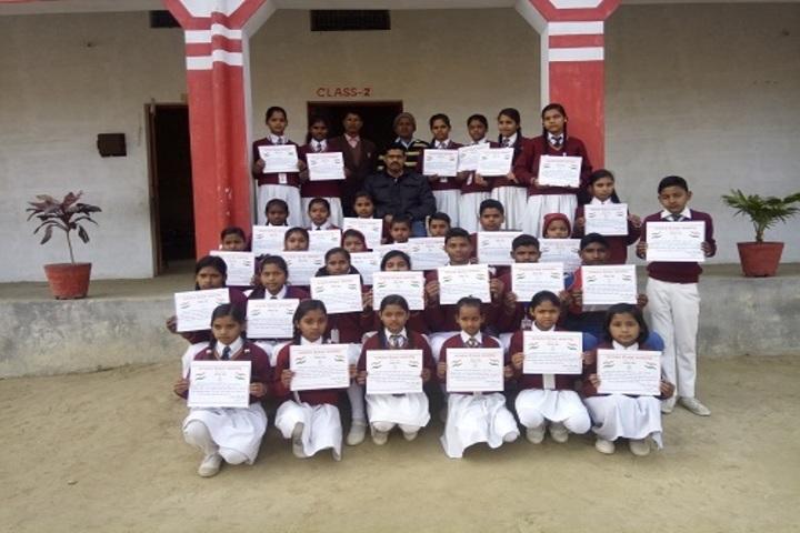 Sir B B Public School-Certificate Distribution