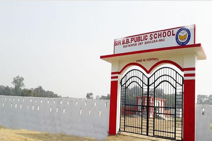 Sir b b public school-School Front View