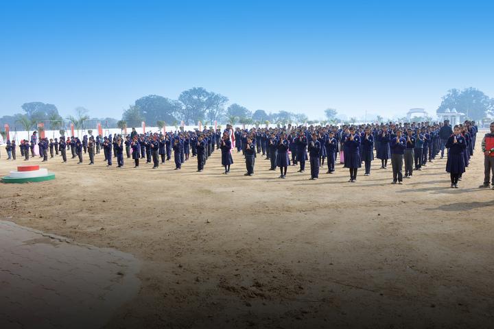 SJP International School-Assembly