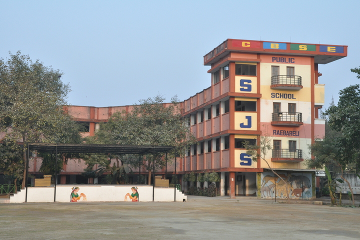 S J S Public School-Campus Front View