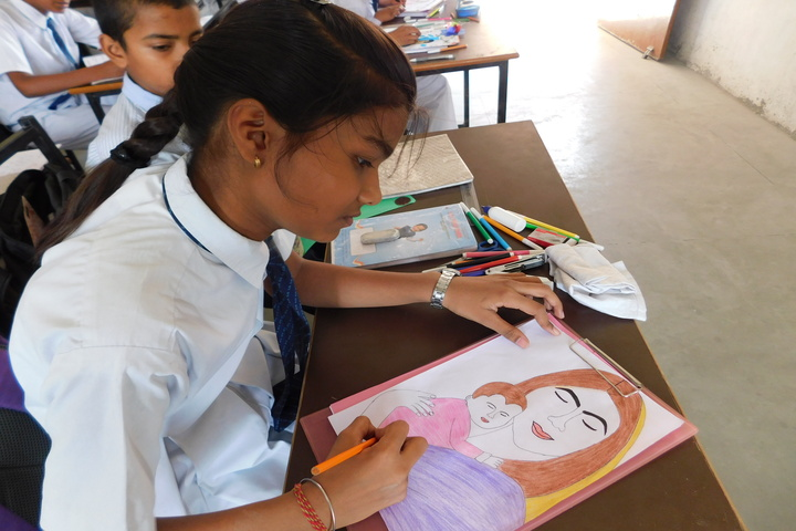 S J S Public School-Drawing Competition