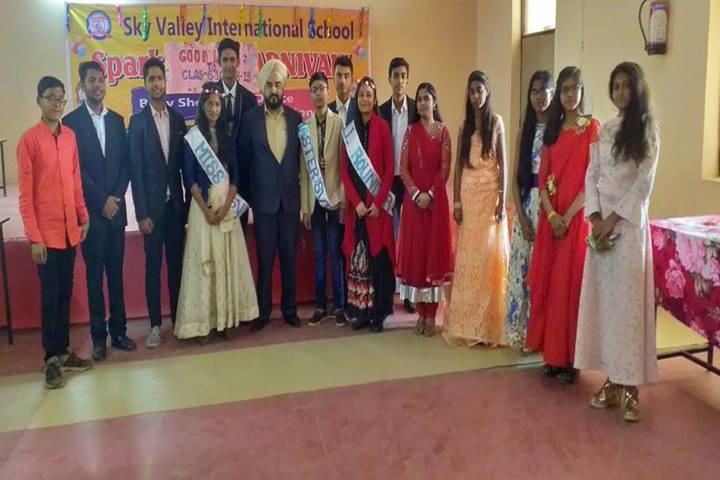 Sky Valley International School-Freshers Day