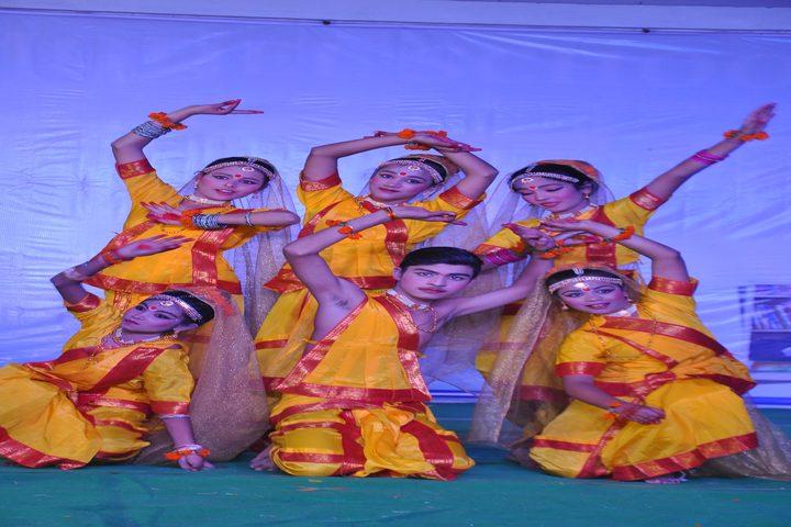 Smart Indian Model School-Classical Dance